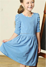 Casual design Kids Spring Summer Dresses Toddler wear girls polka dots dress