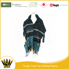 New product free knitting patterns cashmere nepal poncho