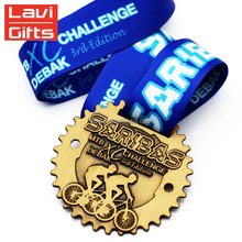 2017 New Custom Metal 3D Cycle Series Race Bike Medal
