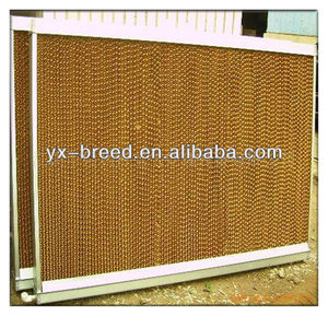 Farming equipment ventilation and cooling system chicken house cooling pad wet curtain
