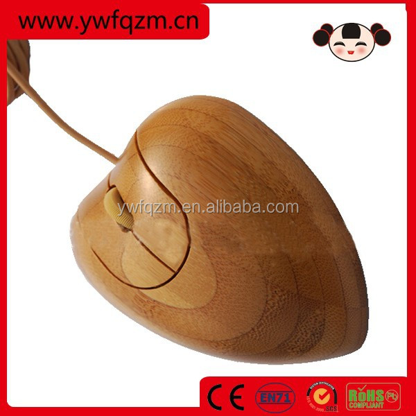 china wholesale custom computer bamboo mouse