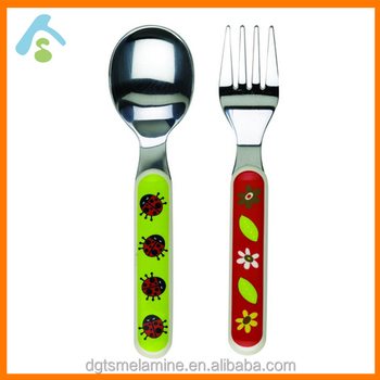 Best selling super cute forks and spoon for kids