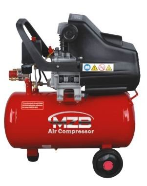 4KW Industrial Twin 90mm Cylinder Belt Driven Air Compressor