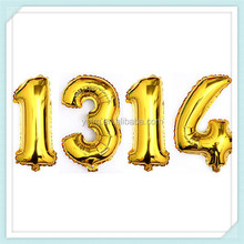 Wholesale Inflatable Numbers Birthday Foil Balloons