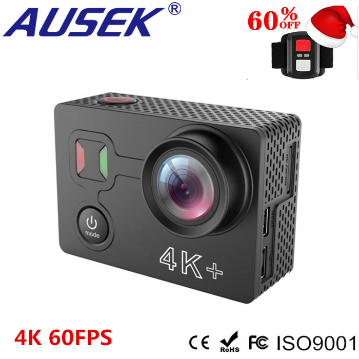 2018 Cheapest Real 4k 60fps A12 Action Camera Waterproof 50m EIS