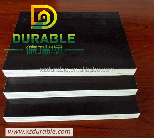 Good Quality, Hot Sale Waterproof 18mm Film Faced Plywood hard wood Construction Use