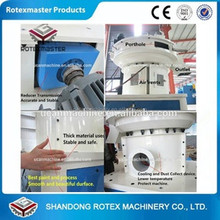 Rotexmater Brand Vertical Ring Die Wood Pellet Machine with Auto Lubrication System And Siemens Motor