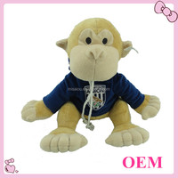 Factory wholesale plush toys plush monkey soft monkey toy