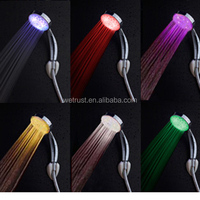 7 Color Water Powered LED Shower Head