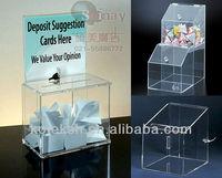 transparent acrylic display box