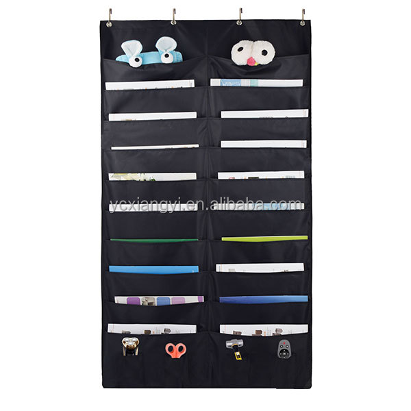 Hot Selling 2017 Amazon Over the Door and Wall Hanging File Folders Pocket Chart Organizer