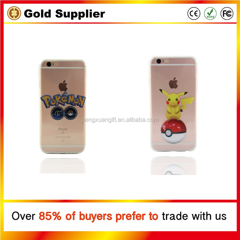 Popular Style Pokemon Go Case Fashion Pokemon Go Phone Case Wholesale Pokemon Phone Case