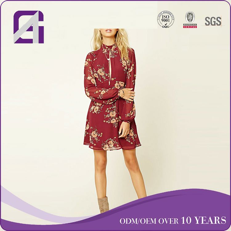 Sample quality long sleeve country fair dress for lady
