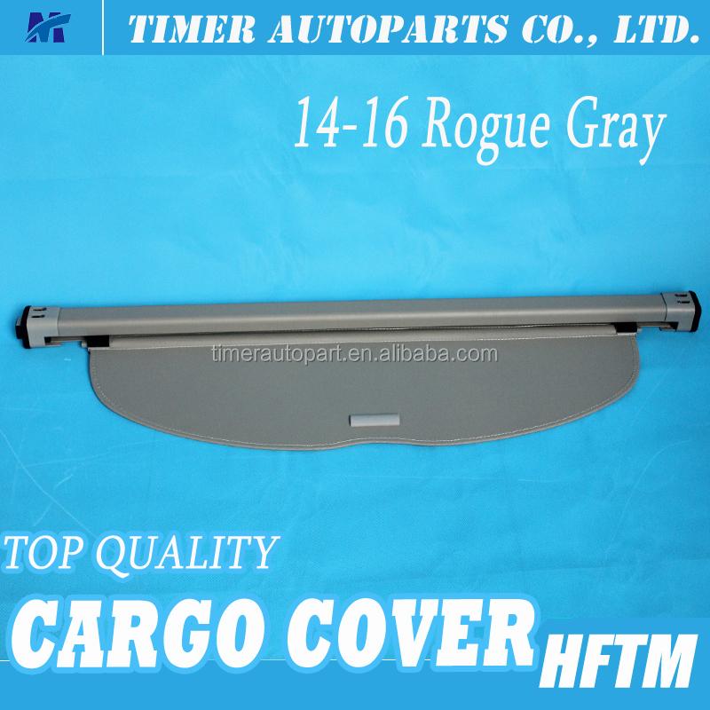 Retractable Trunk Cover Suv Trunk Cargo Cover For 14 16 Rogue Gray Buy Trunk Cargo Cover For