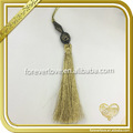 New design yellow tassel and fringe for garments hats FT-031