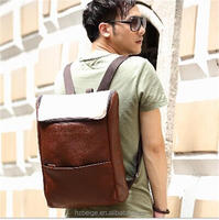 2015 Fashion Cheap Man Bag Wholesale, New Desgn PU man backpack