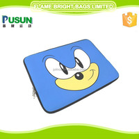 15.6 inch neoprene laptop sleeve, zipper for closure