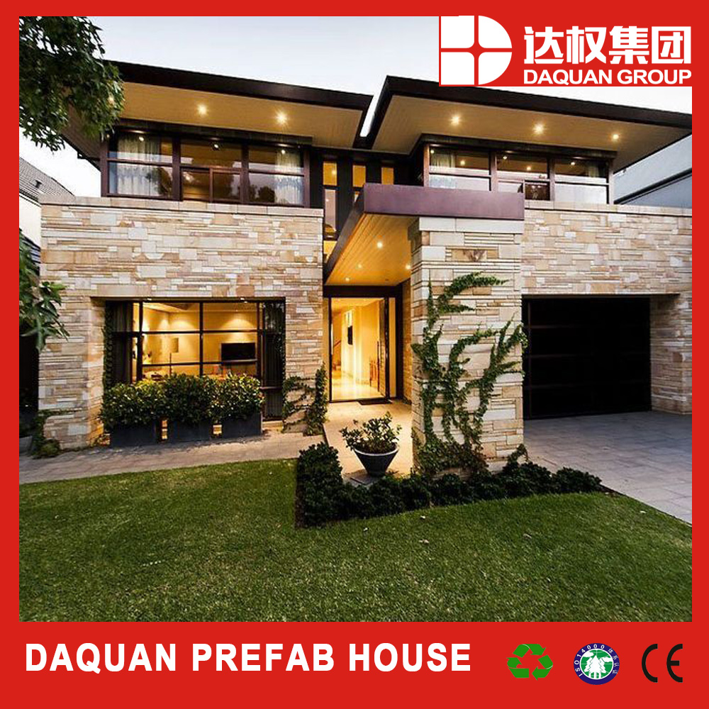 Chinese high insulation comfortable living prefabricated home