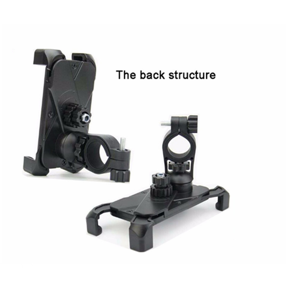 clamp structure bicycle phone holder stable in strong bumps and super high speed
