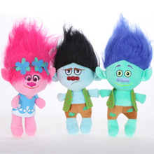 Outdoor precious moments hanging decoration handmade Trolls elf toy rag doll