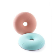 Wholesale Custom Round Donut Baby Bean Bag Memory Foam Seat Cushion For Outdoor Patio Furniture