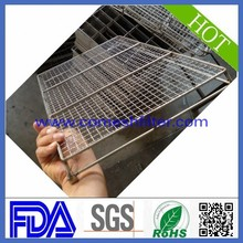 Collapsible Wire Mesh Basket, Steel Cage Bins, Welded Metal Stillage