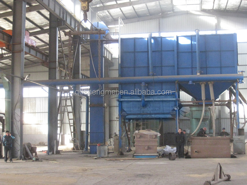 sandry resin sand production line for sale