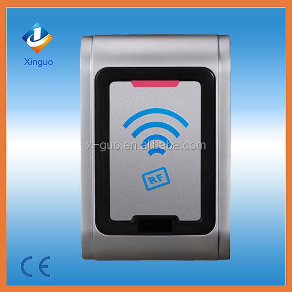 Waterproof metal rfid contactless smart card reader