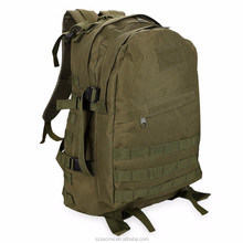 Camouflage Canvas Backpacks Travel Bag Military Tactical Camo Rucksack Pack Hiking Backpack