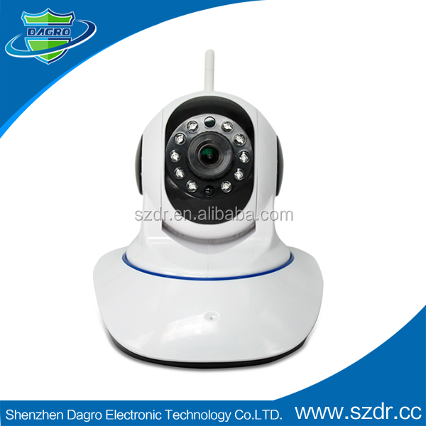 Megapixel network camera ip camera 720p wireless cctv for home
