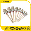 Chinese high quality painting tools 100%pure boiled bristle brush
