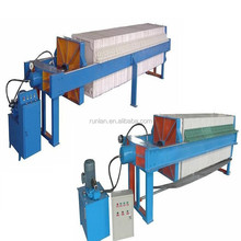 hydraulic Plate and Frame type sludge oil filter press machine