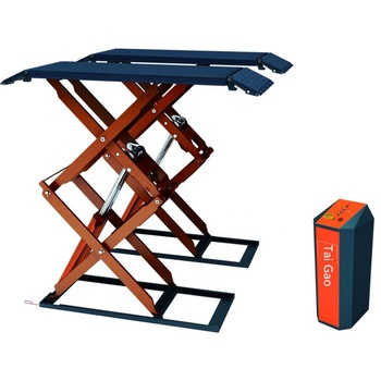 Cheap price in ground hydraulic flat car scissor jack lift
