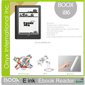 Fashion cheap well-known brand Onyx E-INK pearl Paper ebook reader 8 inch