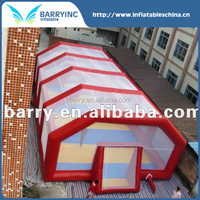 high quality inflatable soccer arena with cover for sale China