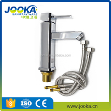 Fast delivery hot cold waterfall bathroom basin mixer faucet