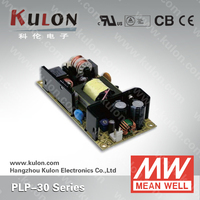MEAN WELL LED Driver PLP-30 12 24 48V Open Frame LED Driver With PFC Fuction
