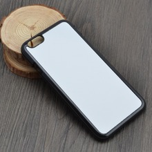 DHL Free shipping!Blank 2D sublimation plastic phone cases for iphone 5C with aluminum insert