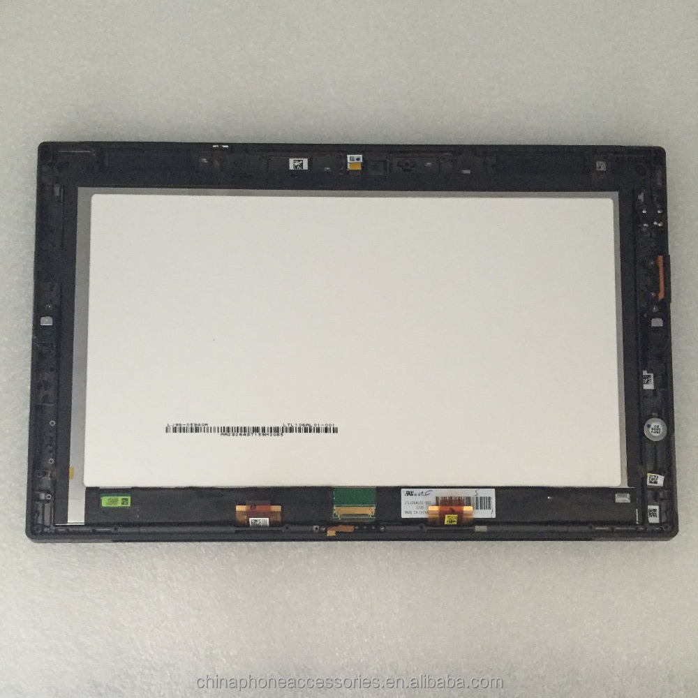 Original For Microsoft surface RT 1 1st 1516 LCD Display+Touch Screen digitizer Monitor with Frame