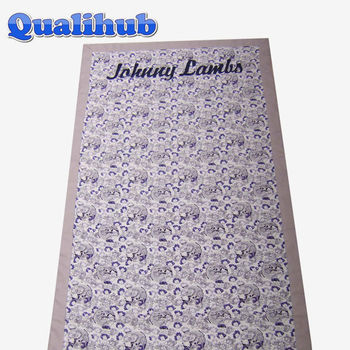 heavy double fabric cotton printed beach towel