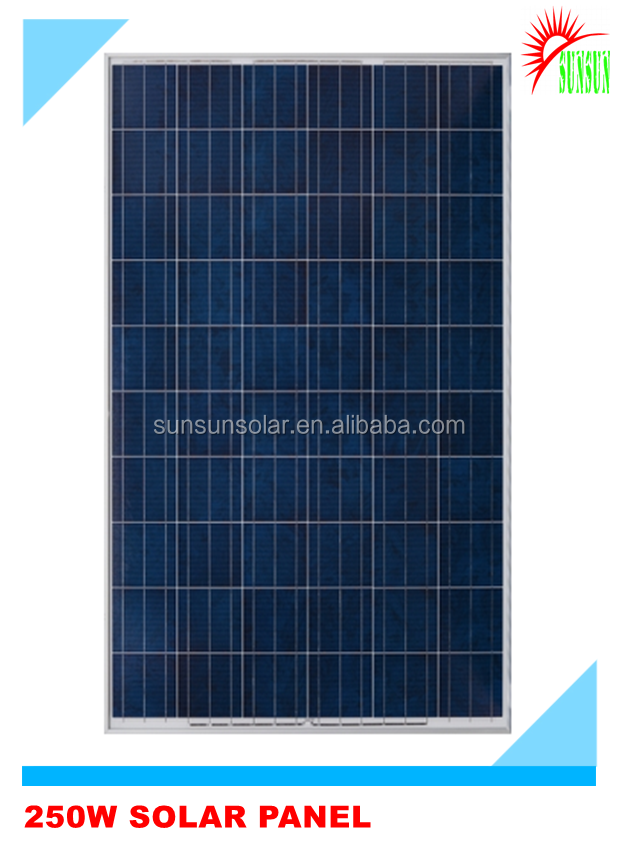 Best quality and best pv solar panel price 250W