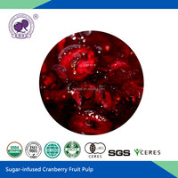 Sugar Infused Cranberry Fruit Juice Pulp