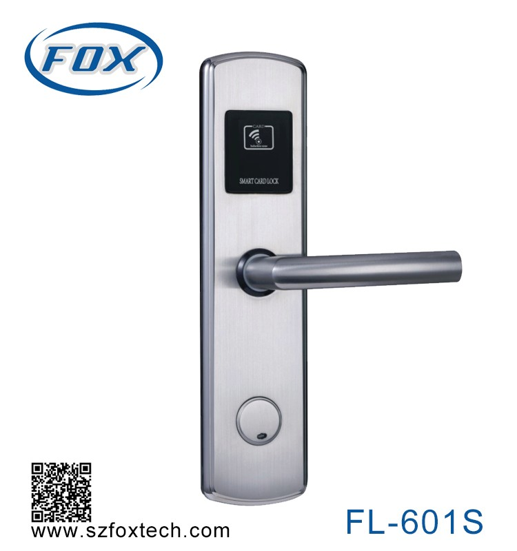 Hotel Key Card Door Locks Rfid Card Reader Door lock
