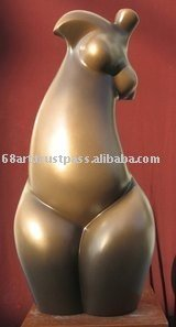 Fat Lady Sculpture/Modern Woman Sculpture/Abstract Sculpture