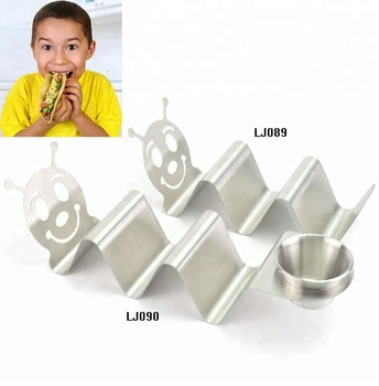 Food Grade Stainless Steel Taco Holder Tray for Kids 2018 New Design & Will Be Top Sale Items At Amazon