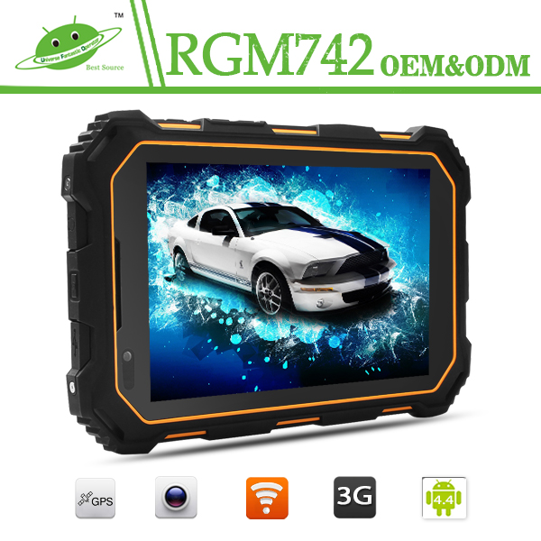 Factory OEM PC tablet rugged android 7inch IPS 1280*800 3G made in China rugged tablet p