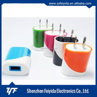 2016 Newest High Speed usb wall charger 5V 1A US/EU plug usb charger portable mobile phone charger for samsung iphone