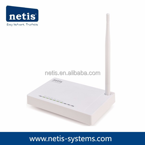 netis 150Mbps Wireless N ADSL2+ Modem Router with Ethernet WAN Port