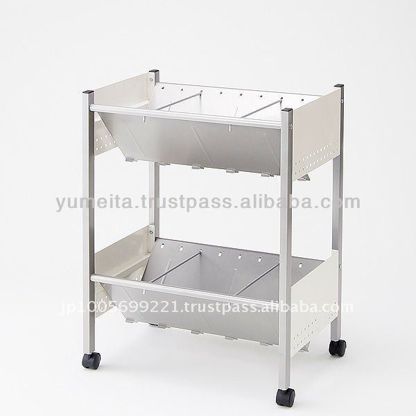 Attractive for Office Supply Wholesale Distributors!!! Japanese High-Quality 2 or 3-Shelf Book Cabinet