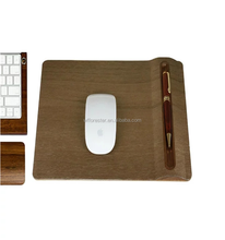 Unique design promotional wooden mouse pad for sale